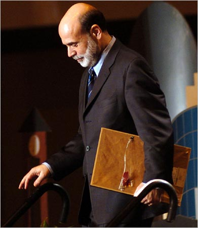 bernanke speech His speech was titled: a century of us central banking: goals, frameworks, accountability bernanke's speech did not include any remarks on the outlook for the us economy (most analysts and.